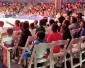 Kids enjoying the circus